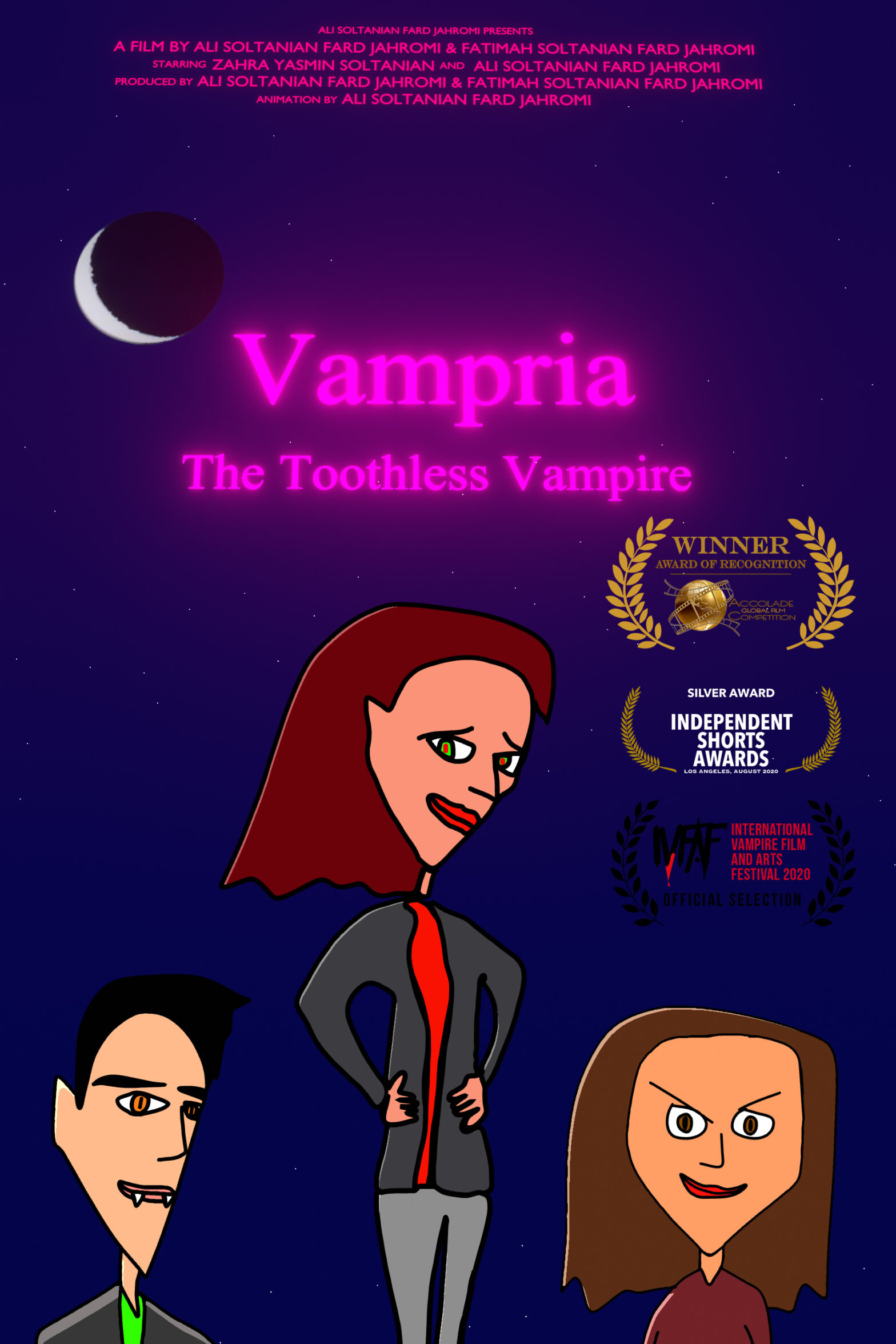 Vampria: The Toothless Vampire Movie Poster